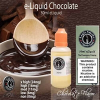 You can't go wrong with our Chocolate e-liquid! This is such a delightful vape all on its own but mixes well with so many of our other available flavors.