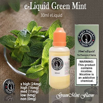 Fill your favorite vaping device with the cool, refreshing taste of our Green Mint flavored electronic e-liquid! Not too light, not too intense.