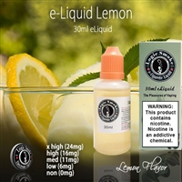 Like a blast of sunshine! Try our Lemon flavored electronic cigarette e-liquid in your favorite vaping unit.