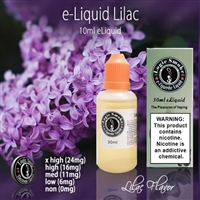 Try the refreshingly peppy Lilac flavored e liquid. A refreshing surprise to your taste buds.