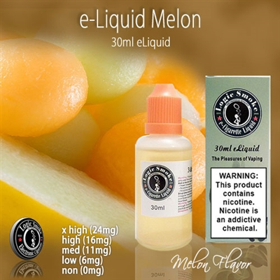 The votes are in and its a tie! Its honeydew melon. Its cantaloupe! Try it it today and see what flavor you get from our Melon flavored e liquid.