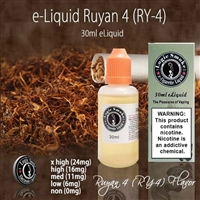 30ml Ry4 Tobacco Flavor e Liquid