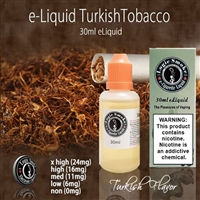30ml Turkish Tobacco Flavor e Liquid