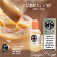 Vape our Caramel flavored electronic cigarette e-liquid and step into a whole different dimension of flavor!
