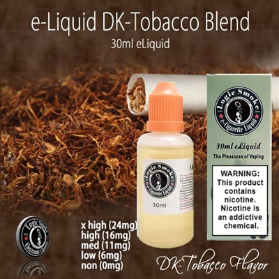 Smooth flavor and nutty caramel tobacco.