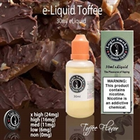 Traditionally sweet English Toffee Vape!