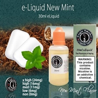 30ml New Mint Flavor e Liquid