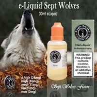 30ml Sept Wolves Flavor e Liquid