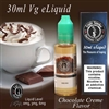 30ml VG Vape Juice Chocolate Cream Flavor