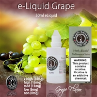 50ml Grape Flavor e Liquid