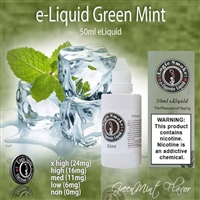 50ml Green Mint Flavor e Liquid