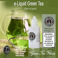 50ml Green Tea Flavor e Liquid