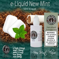 50ml New Mint Flavor e Liquid