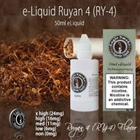 50ml Ry4 Flavor e Liquid