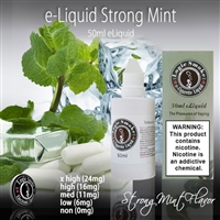 50ml Strong Mint Flavor e Liquid