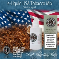 50ml USA Mix Tobacco Flavor e Liquid