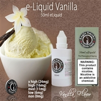 50ml Vanilla Flavor e Liquid