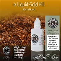 50ml Gold Hill Flavor e Liquid