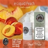 Sweet peach, Peach flavored vape juice.