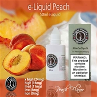 50ml Peach Flavor e Liquid