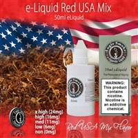 50ml Red USA Mix Flavor e Liquid