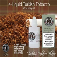50ml Turkish Tobacco Flavor e Liquid