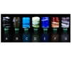 Designer Drip Tips Wide Bore Marble Swirl Style