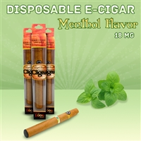 Menthol Flavor Disposable Electronic Cigar
