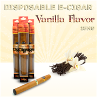 Disposable Electronic Cigar Vanilla Flavor