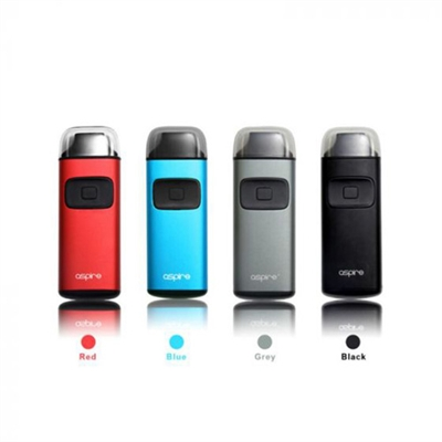 The Aspire Breeze is an incrediblly convenient AIO(All In One) Kit that proves to be an ultra compact, easy-to-use vaping device. Its name is appropriate, as it is a complete breeze to use!