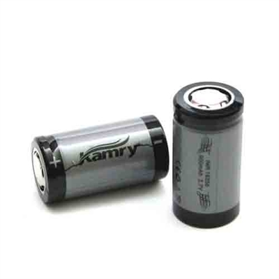 Kamry 18350 900mah 3.7V battery with Flat top