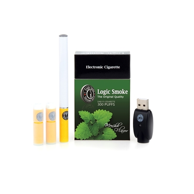Logic Smoke Premium Soft Tip Menthol e Cigarette Kit