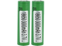 Sony VTC6 18650 3000mAh Green Flat Top Battery
