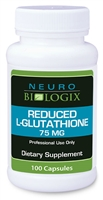Glutathione - Reduced L-Glutatihone (75mg per capsule / 100C)