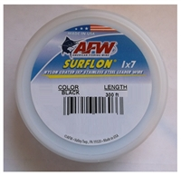 AFW SURFLON NYLON COATED STAINLESS STEEL LEADER WIRE- 300'