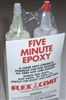 FLEX COAT 8 OZ. FIVE MINUTE EPOXY GLUE KIT #Q8
