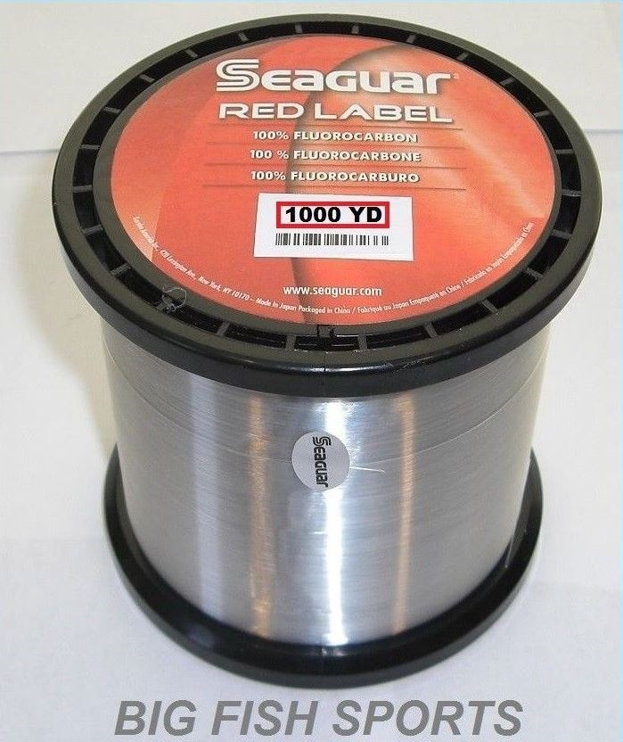 SEAGUAR RED LABEL Fluorocarbon Fishing Line 6lb//200yd 6 RM 200 FREE USA SHIP!