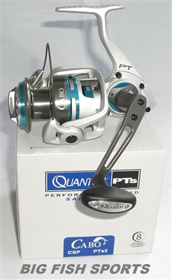 QUANTUM CABO PTs SPINNING REEL 4.9:1 GEAR RATIO #CSP80PTSE