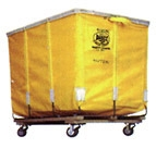 Dandux canvas laundry cart 12 bushels