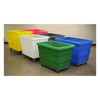 Dandux poly laundry cart 12 bushels