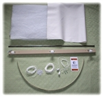 "Customized Insulated Shade Kit  Up to 36"" wide X 72"" long"
