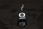 PowerFx Pet Tag (White on Black)