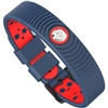 ProExl 18K Sports Magnetic Bracelet - Waterproof - Breathable Strap - Power & Energy - Blue Red