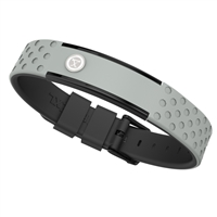 ProExl 9K Energy Sports Magnetic Bracelet Gray Black