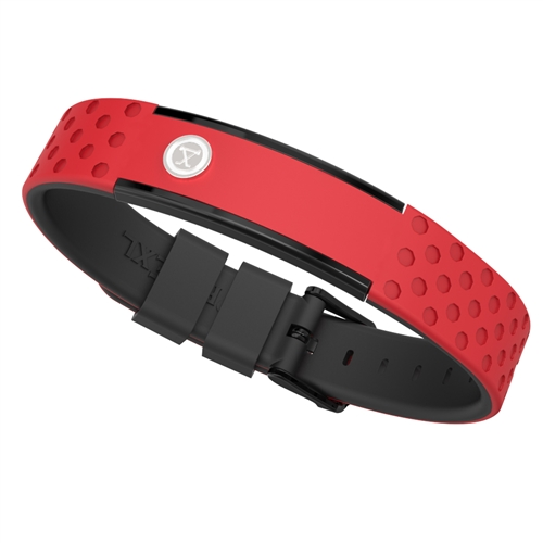 ProExl 9K Energy Sports Magnetic Bracelet Red Black