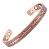 Christian Cross Copper Magnetic Bracelet