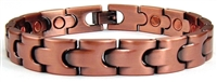 Copper Link Magnetic Bracelet Tempo Power
