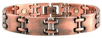 Copper Link Magnetic Bracelet Turin