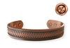 Mens Vine Copper Magnetic Bracelet