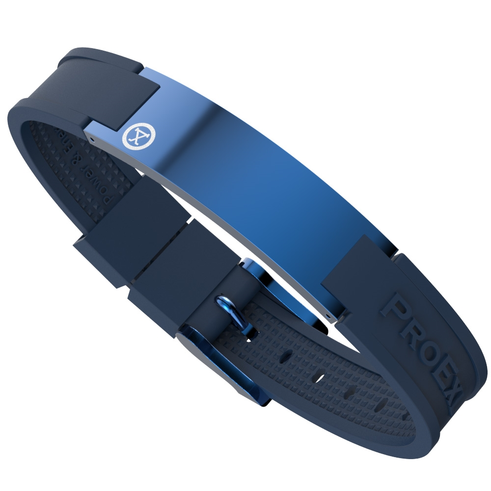 Ultimate Blue Magnetic Bracelet with Blue Strap